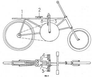 Патент на велосипед